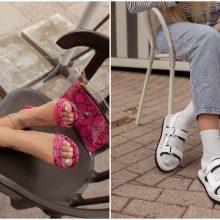 Metas apnuoginti kojas! Sandalai grįžta – kokie madingiausi?