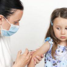 Kasmet pasaulyje nuo tymų nepaskiepijami 21 mln. vaikų
