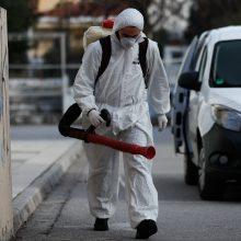Apklausa: dėl koronaviruso panikuoja trečdalis lietuvių