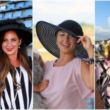 Žirgų lenktynėse Dzūkijoje – skrybėlaitėmis pasipuošusios žinomos moterys