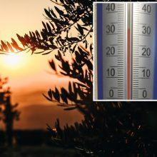 Hidrometeorologai: praėjusi naktis – šilčiausia birželį per visą stebėjimų istoriją