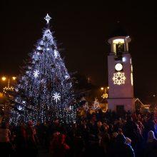Telšių miesto gimtadienio proga bus įžiebta kalėdinė eglutė