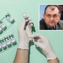 V. Kasiulevičius – apie tai, kada vertėtų skiepytis palaikomąja COVID-19 vakcinos doze