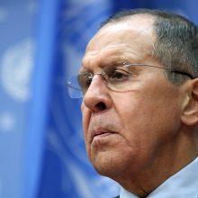 S. Lavrovas įvardijo skrydžių su Gruzija atnaujinimo sąlygas