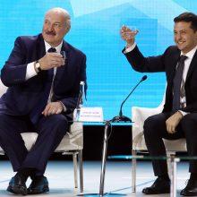 V. Zelenskis mano, jog A. Lukašenkai reikia surengti pakartotinius rinkimus