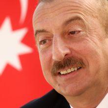 I. Aliyevas: Azerbaidžanas nepradėjo karo, ginasi pagal JT chartiją