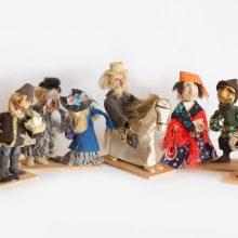 Liaudies buities muziejuje – etnografinių lėlių kompozicijų paroda