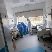Ligoninėse šiuo metu gydoma 900 COVID-19 pacientų, iš jų 89 – reanimacijoje