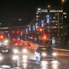 Vilniaus gatvės pasipuošė žiemos šventėms