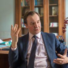 Prisieks naujasis Vilniaus universiteto rektorius R. Petrauskas