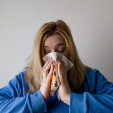 Kauno apskrityje padaugėjo sergančiųjų peršalimo ligomis