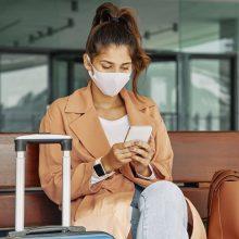 Užsieniečiams informacija apie koronaviruso tyrimus bus siunčiama trumposiomis žinutėmis