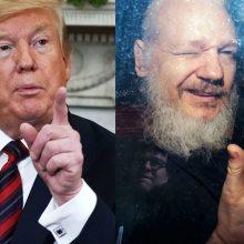 """D. Trumpas: aš nieko nežinau apie """"WikiLeaks"""""""