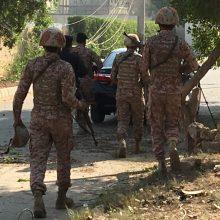 Pakistane per ataką Kinijos konsulate žuvo du policininkai: užpuolikai nukauti