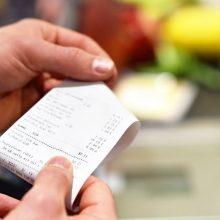 Dėl čekių loterijos – papildomi milijonai eurų PVM