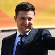 V. Zelenskis sieks Ukrainos susitaikymo su Lenkija