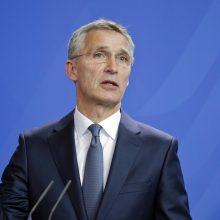 NATO vadovas: liepą gali būti nuspręsta pradėti derybas dėl Makedonijos narystės