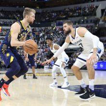 Lietuvos krepšininkai tarpusavio akistatoje NBA rinko dvigubus dublius