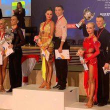 Lietuvos šokėjų porai – pasaulio jaunimo čempionato bronza