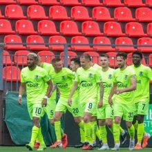 """Kontrolinėje akistatoje """"Riteriai"""" pralaimėjo Minsko """"Dinamo"""""""