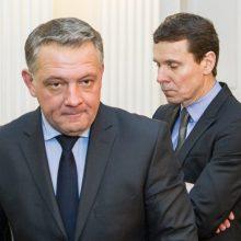 Teismas neskyrė suėmimo R. Kurlianskiui, o E. Masiuliui namų arešto