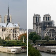 Paryžiaus Dievo Motinos katedros rekonstrukcija: surinkti 38 milijonai eurų