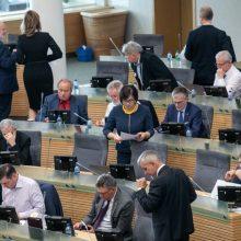 Žmonės įvertino Seimo darbą: pasitikėjimas krito kaip po naktinės mokesčių reformos