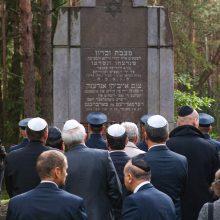 Paneriuose pagerbtas Holokausto aukų atminimas