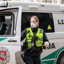 Klaipėdos kelių policininkų nuopelnas – mažiau žuvusių avarijose
