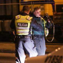 Įtemptos gaudynės Vilniaus rajone – girtą vairuotoją policija stabdė šūviais