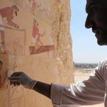 Archeologai Egipte rado faraonų laikų kapavietę ir mumiją