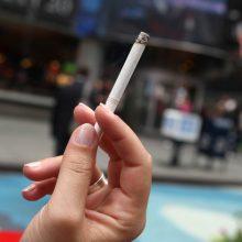 Kalifornija uždraudė rūkyti paplūdimiuose ir parkuose
