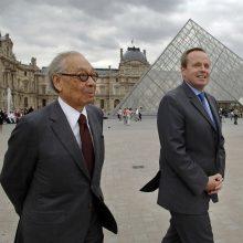 Eidamas 103 metus mirė garsus amerikiečių architektas I. M. Pei