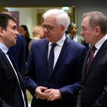 Vyksta pirmosios Lenkijos ir Rusijos diplomatijos vadovų derybos po 2014 metų