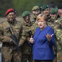 Vokietija atmeta JAV prašymą pasiųsti karių į Siriją