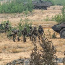 JAV planuoja karines pratybas Europoje: dalyvaus 37 tūkst. karių