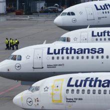 Dėl programinės įrangos trikdžių Frankfurte atšaukiami skrydžiai