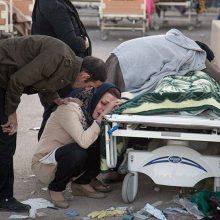 Irane per naują žemės drebėjimą sužeisti 79 žmonės
