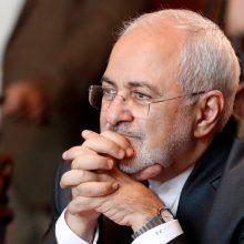 Irano užsienio reikalų ministras: niekas daugiau nebepasitiki Amerika