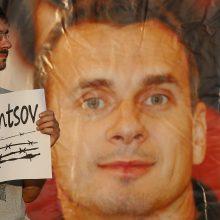 Rusijos kalinamas režisierius O. Sencovas jau 100 dienų atsisako maisto