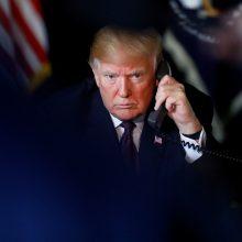 Turkija mano, kad D. Trumpas užmerks akis dėl žurnalisto J. Khashoggi nužudymo