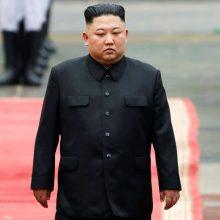 Kim Jong Unas: Šiaurės Korėjai svarbu draugauti ir bendradarbiauti su Kinija