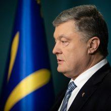 Ukrainoje prieš P. Porošenką pradėtas tyrimas dėl įtariamo valstybės išdavimo