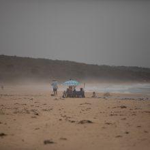 Smarki audra atnešė atokvėpį į gaisrų alinamas Australijos teritorijas