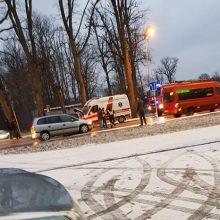 Eismo įvykyje Klaipėdoje – medikų automobilis