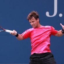 Tenisininkas R. Berankis pasaulio reitinge nukrito į 78-ąją vietą