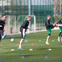 Viceministrė: futbolo čempionatas gali būti atnaujintas gegužės pabaigoje