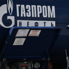 """""""Gazprom"""" tvirtina su Ukraina pasirašiąs naują sutartį, jei bus su kuo tartis"""