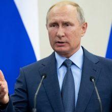 V. Putinas: NATO aviacijos aktyvumas Arktyje ir Baltijos regione didesnis nei Rusijos