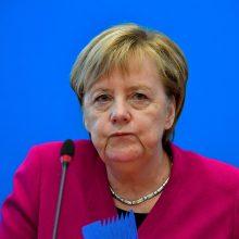 Vokietijos kanclerė A. Merkel nebesieks ilgiau vadovauti savo partijai